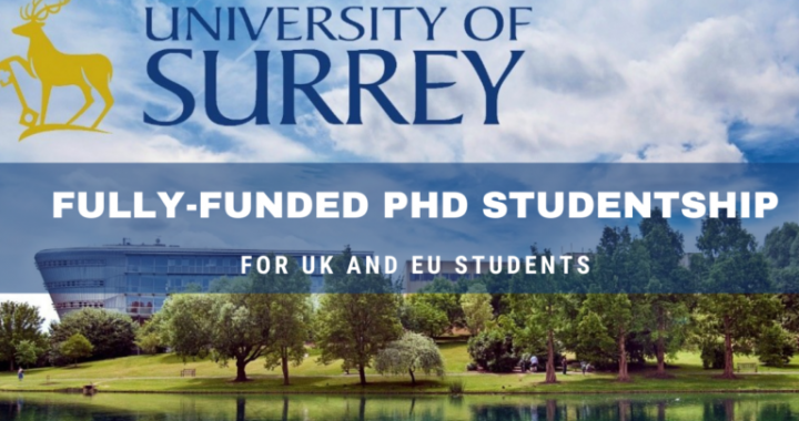 Fully-funded PhD Studentship