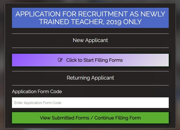 Apply for 2019 GES trained teachers recruitment in 4 steps