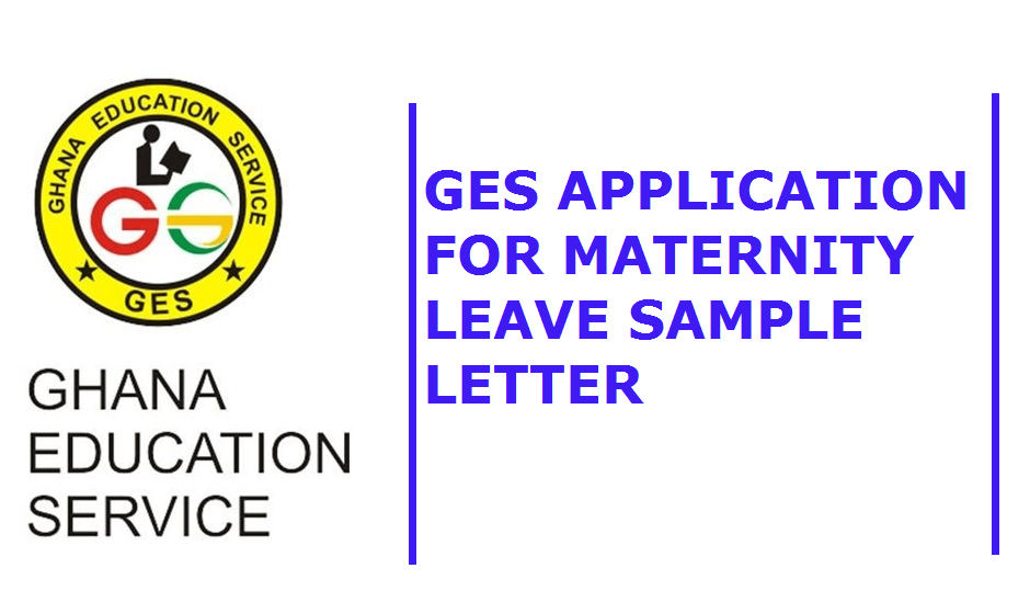 GES Application for Maternity Leave