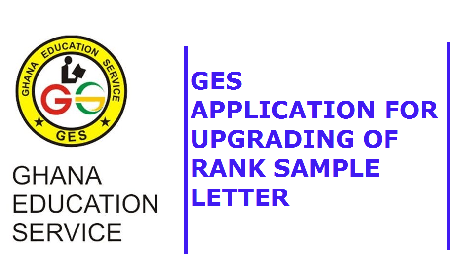 GES Application for upgrading of Rank