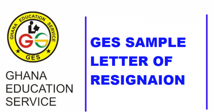 GES Letter of Resignation