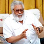 Mr Rawlings had been on admission at Korle Bu for about a week for an undisclosed ailment.