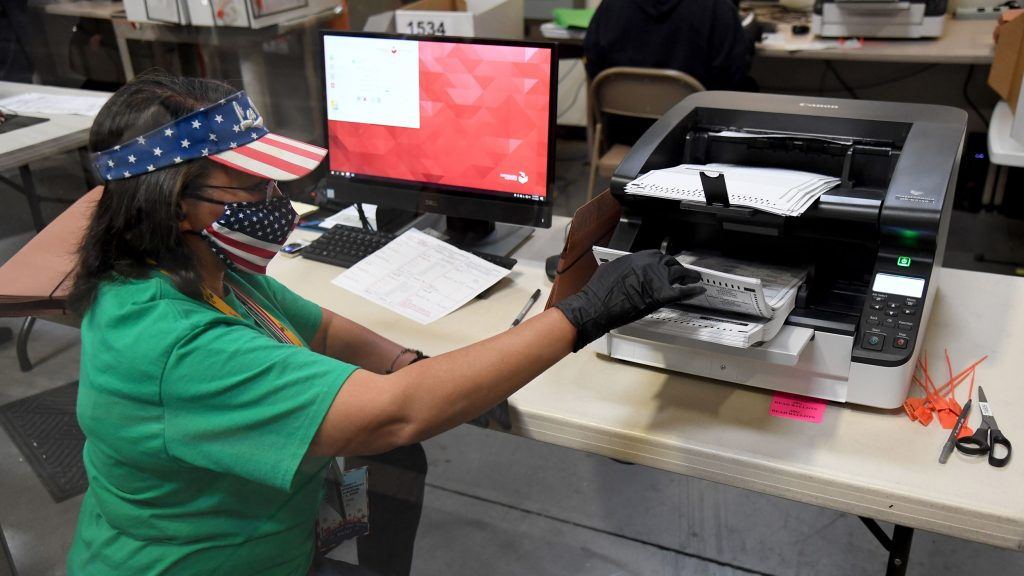 Nevada's Clark County is still counting ballots