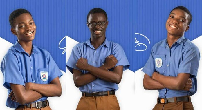 PRESSEC's NSMQ 2020 winners bag 8As in 2020 WASSCE
