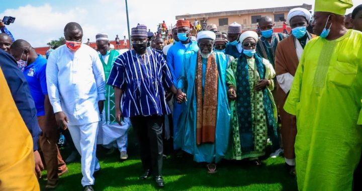 VP Bawumia commissions Sheikh Sharubutu Sports Complex
