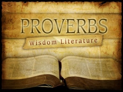 Proverbs and their meaning