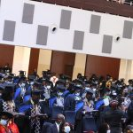 870 students graduate at first session of 13th congregation of UPSA